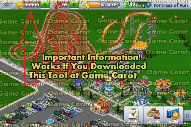RollerCoaster Tycoon Mobile Hack Unlimited Tickets Coins Game - Minecraft rollercoaster spielen