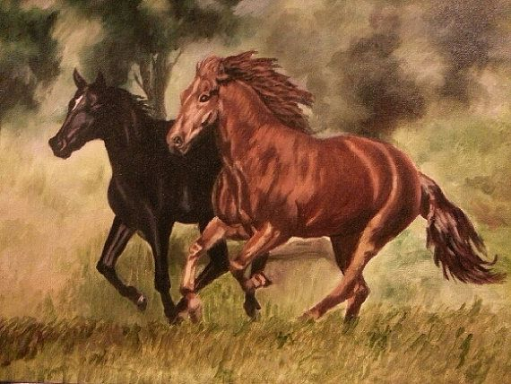 You can by this original painting from https://www.etsy.com/listing/181883423/racing-horses-painting-on-canvas?ref=listing-shop-header-4