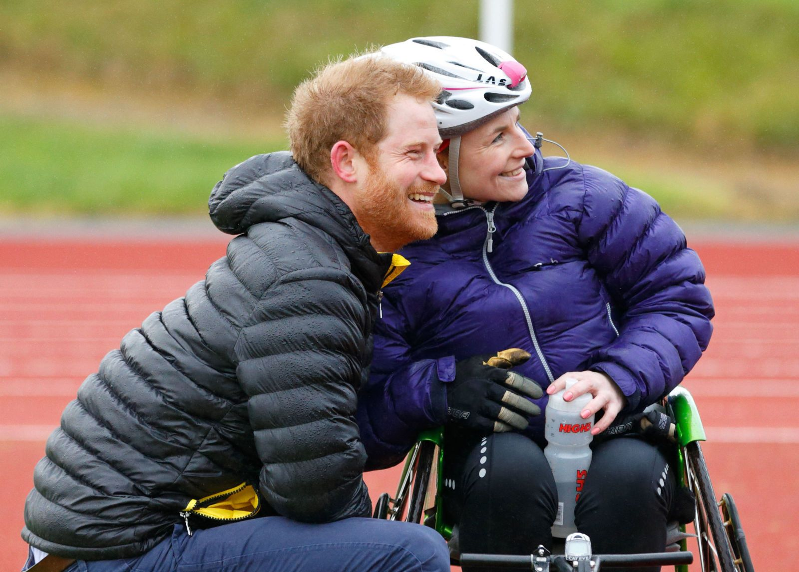 Prince Harry Rescues Woman In Wheelchair, Proves Hes a Real-Life Prince Charming
