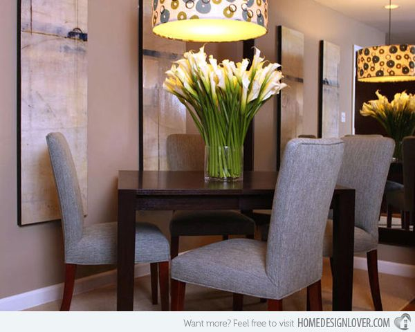 15 Appealing Small Dining Room Ideas Small dining rooms Small