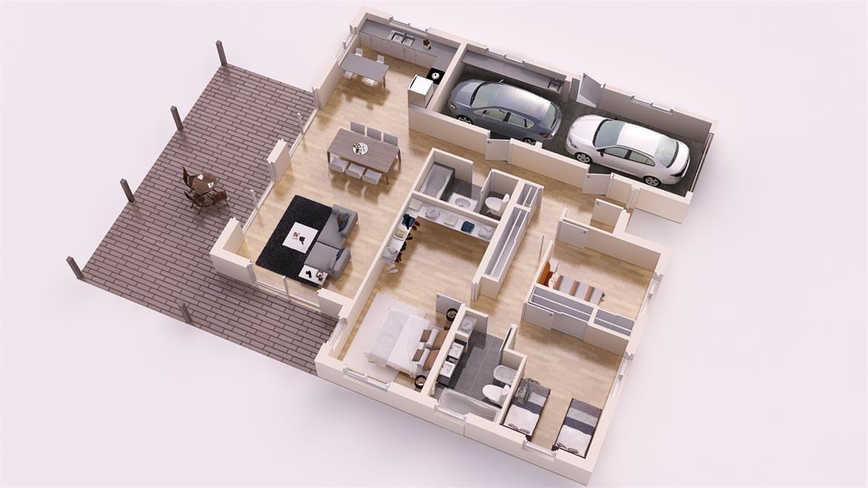 Fuliola 315 m2 CASAS PERSONALIZADAS DONACASA Pinterest House - logiciel gratuit plan maison exterieur