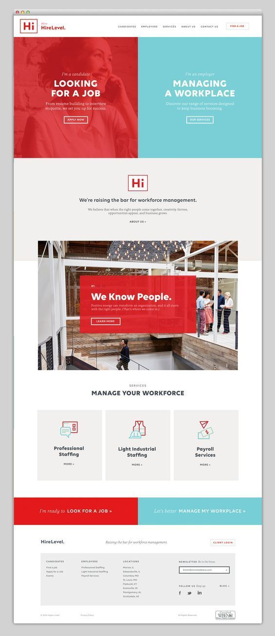 Web design inspiration red blue webdesign layout if - Online web designing jobs from home ...