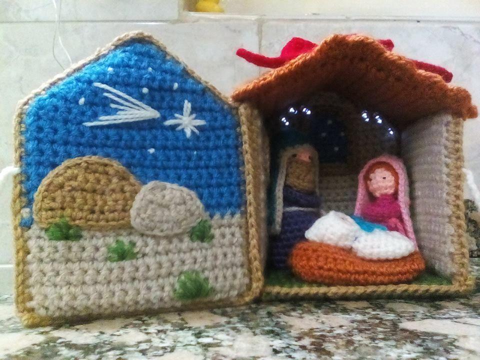 Amigurumi Navidad Nacimiento : Pesebre crochet amigurumi pesebre navidad y