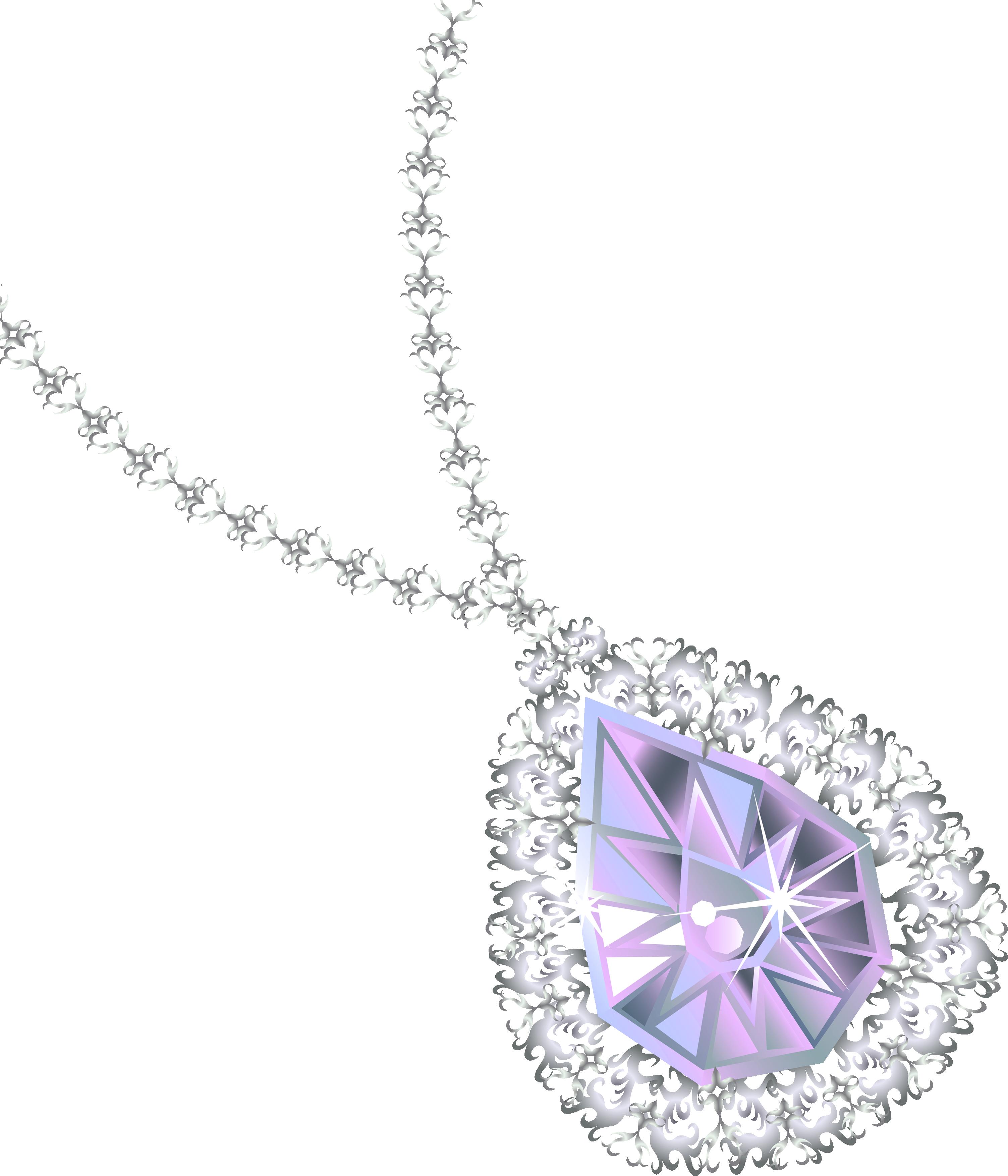 Diamond Necklace Png Image Gemstone Jewellery Design Gold Body Jewellery Diamond