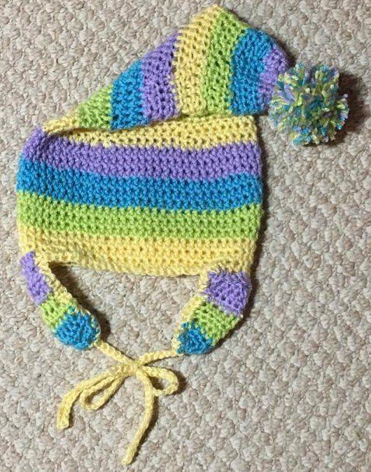 Crochet Kids Hat Pattern Free Crochet Patterns Pinterest