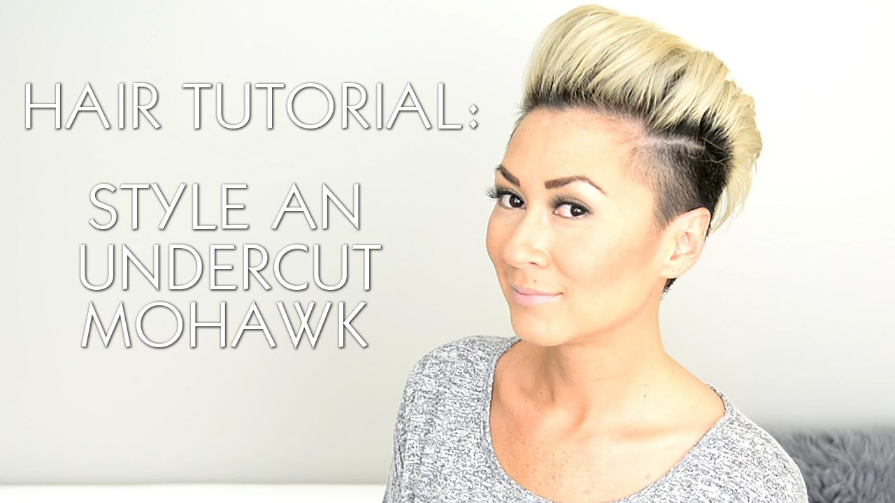 How to style an undercut faux hawk like rihanna miley cyrus and p