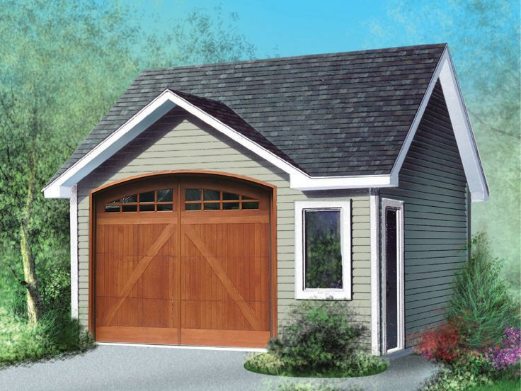 Garage En Bardage Clin Composite Avec Double Portes De Garage - construire un garage en bois m