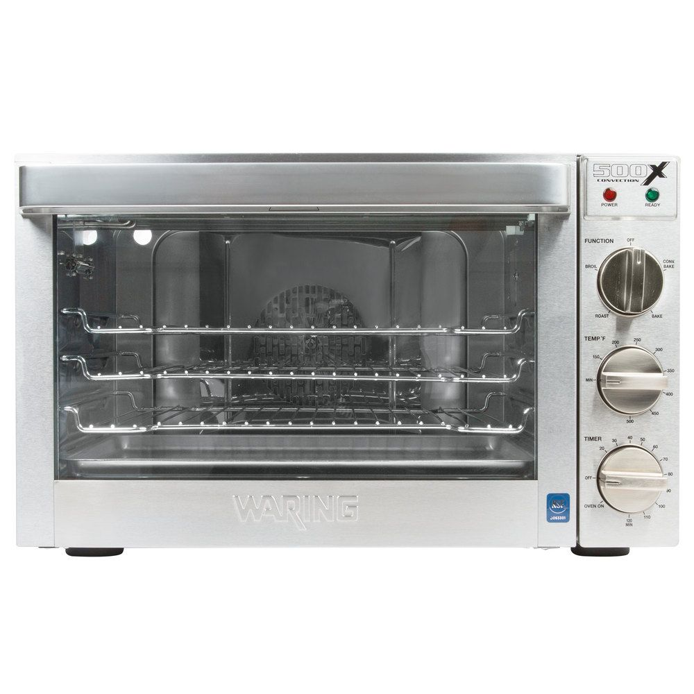 Waring Wco500x Half Size Countertop Convection Oven 120v 1700w