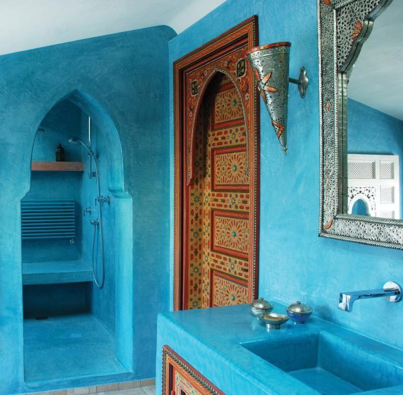 Bagno marocchino cerca con google turchese pinterest stile marocchino turchese e - Mobili marocchini ...