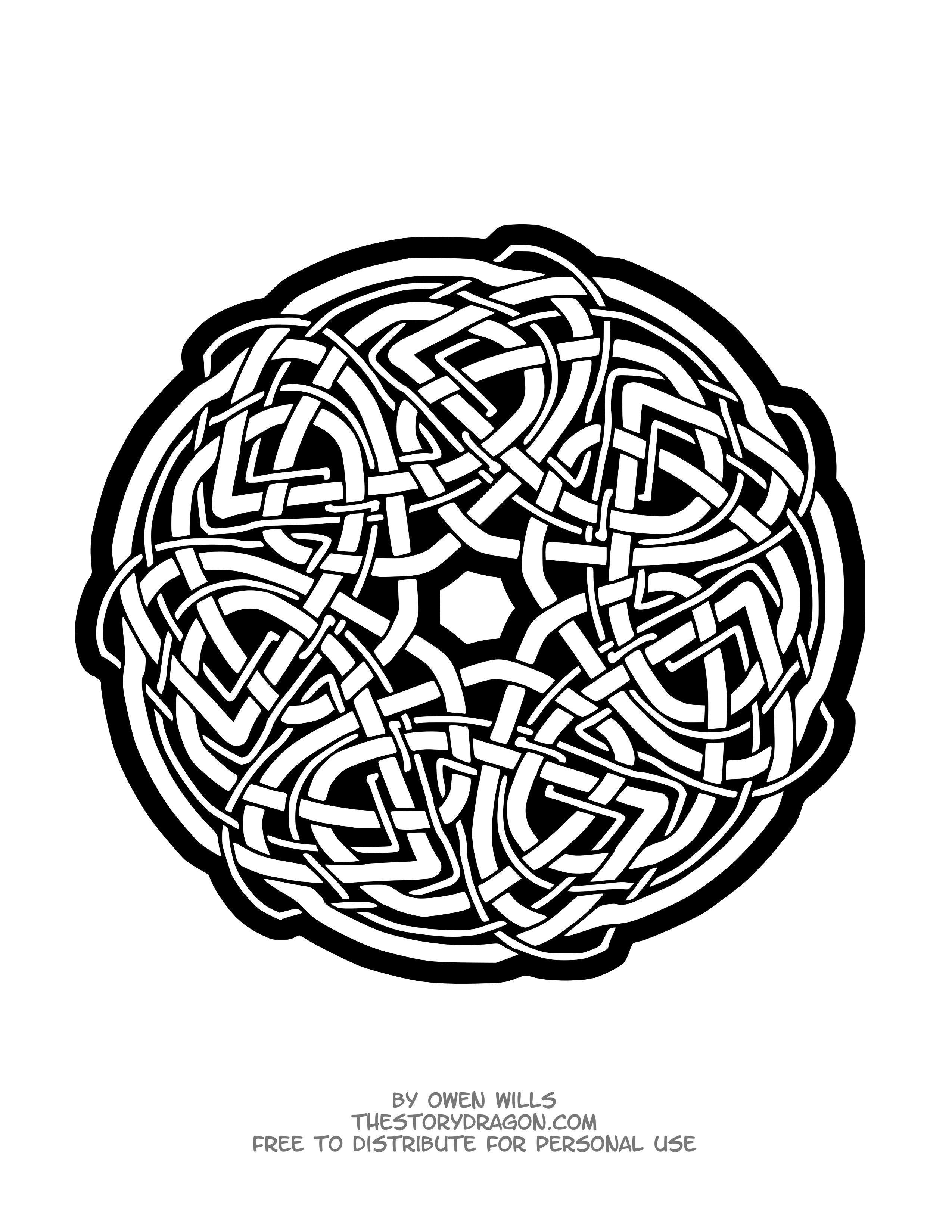 Un Mandala inspiré de l\'art celtique, Dans la galerie : Mandalas ...