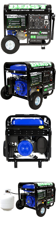 Generators Duromax Watt 18Hp Hybrid Dual Fuel