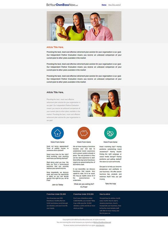 Sample   Email Service Provider Campaign Monitor And Email Layout