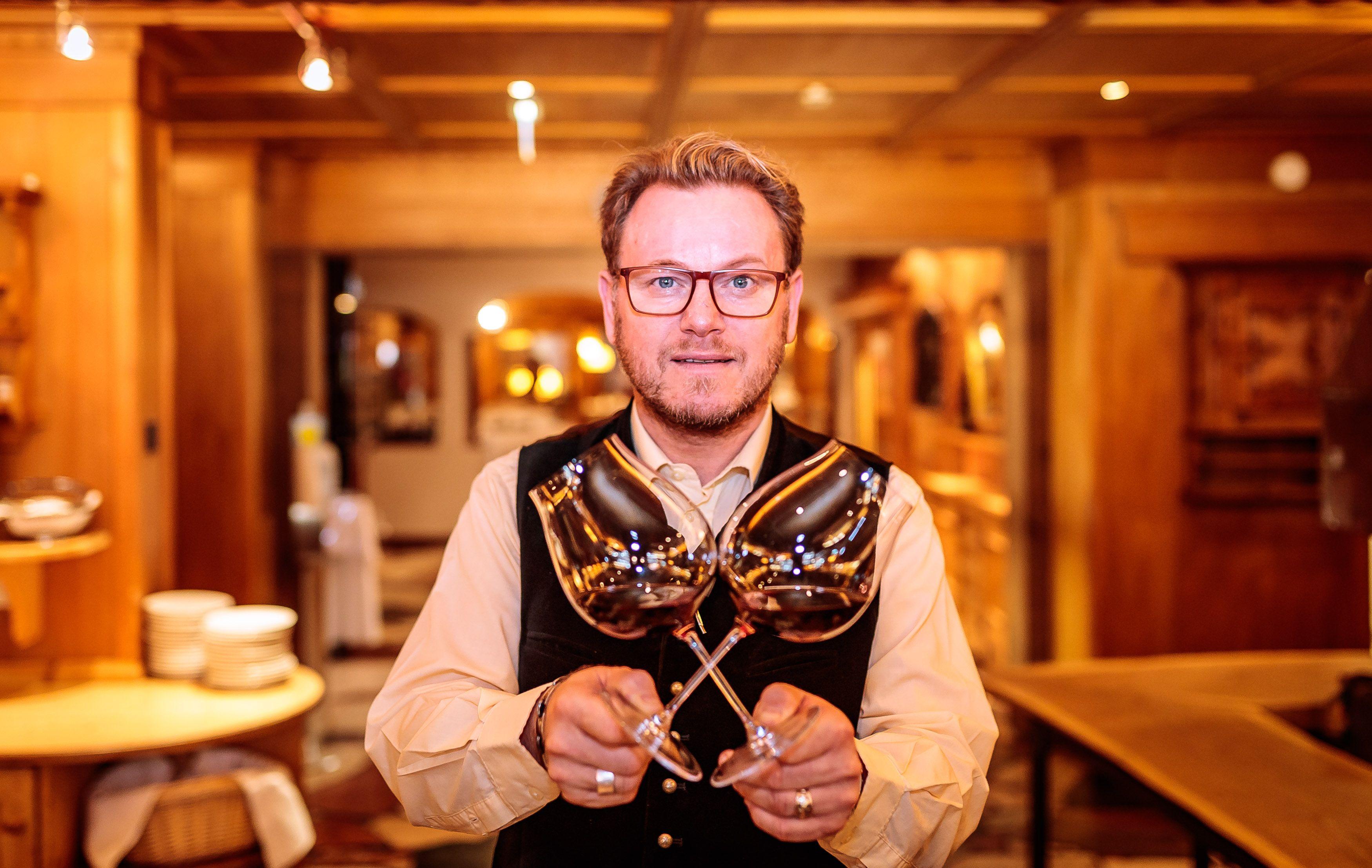 Restaurantleiter Markus Casna