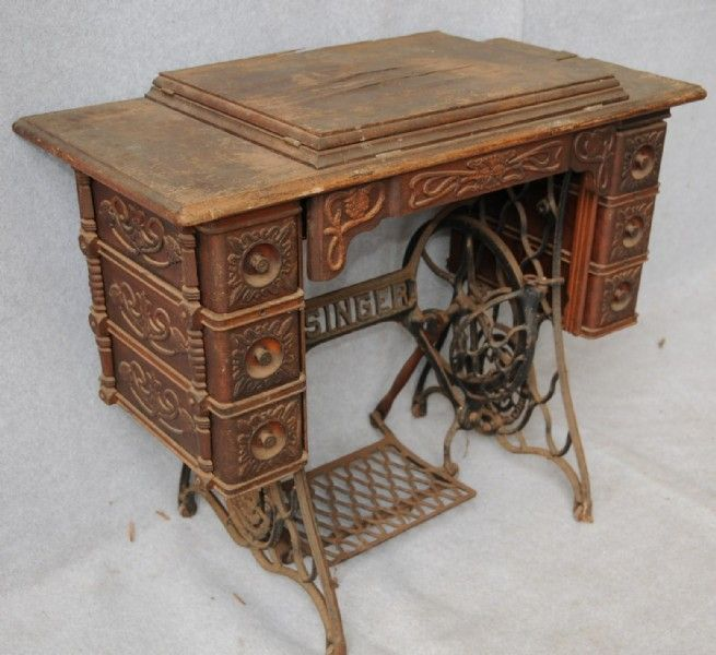 early singer no 5 treadle cabinet a true victorian style often rh pinterest com