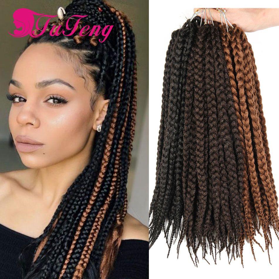 crochet box braids black hair extensions synthetic curly crochet