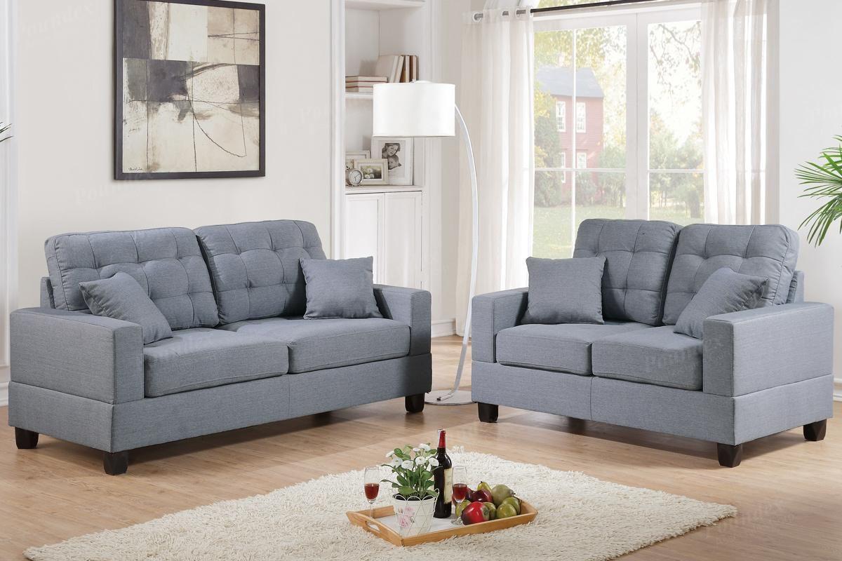 Cool Fabric Sofa And Loveseat , Elegant Fabric Sofa And Loveseat 44 In  Office Sofa Ideas