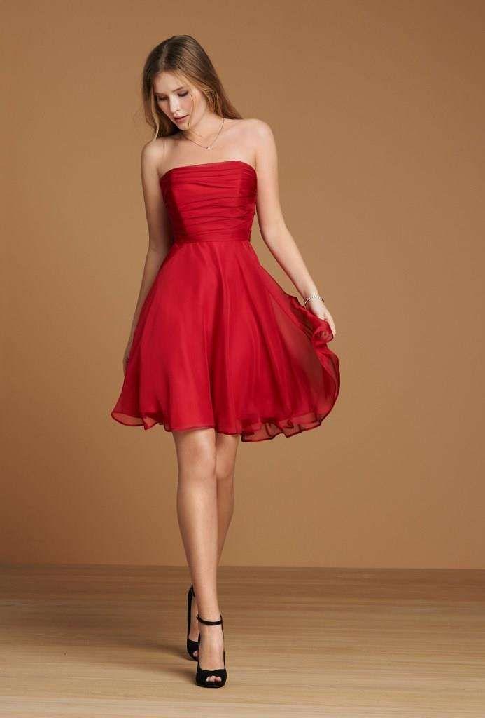 Vestito rosso on line