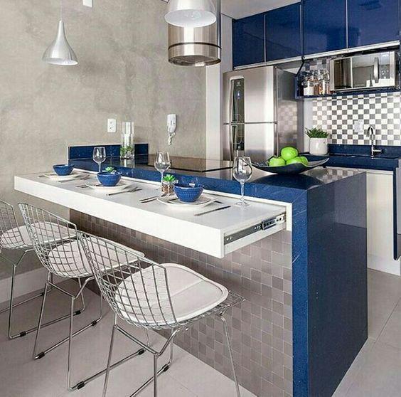 50 Fotos De Cocinas Modernas Pequenas Llenas De Inspiracion 2020