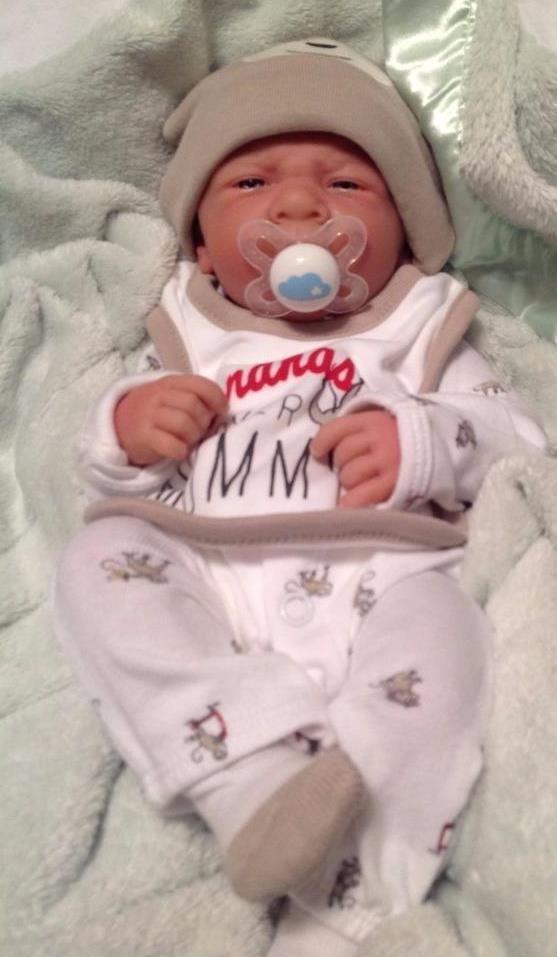 "10/"" Preemie Bebes Reborn Twin Boy And Girl Doll Silicone Lifelike Baby Dolls Toy"
