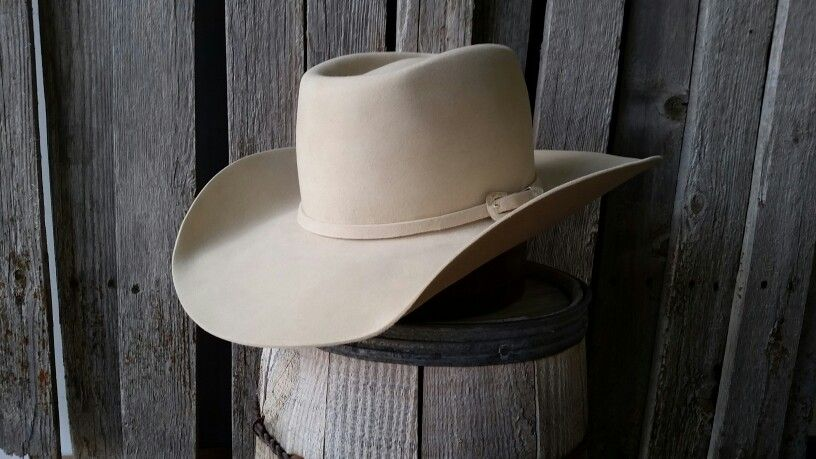 1ac12f18 Custom made cowboy hat Brick crease bone in color | Hats in 2019 ...