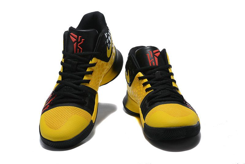 994d2df957e2 Legit Cheap Nike Kyrie 3 Bruce Lee Tour Yellow Black AJ1692-700 Mens  Basketball Shoes