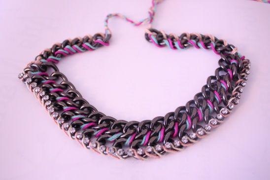 chunky necklace by   Limberlina