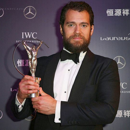Henry at the Laureus WSA.