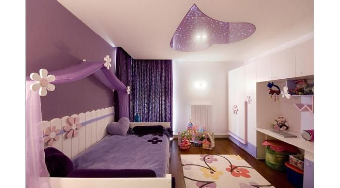 Purple Color Bedroom Ideas Home Design Ideas Kamar Anak Kamar Tidur Ungu Kamar Anak Perempuan