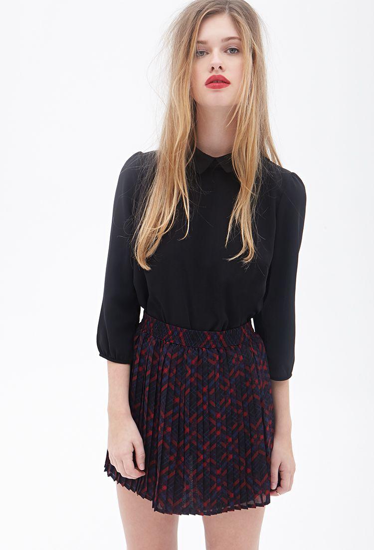 e647837fe Robe Coupe Droite en Jean | Mini skirts | Plaid mini skirt, Plaid ...