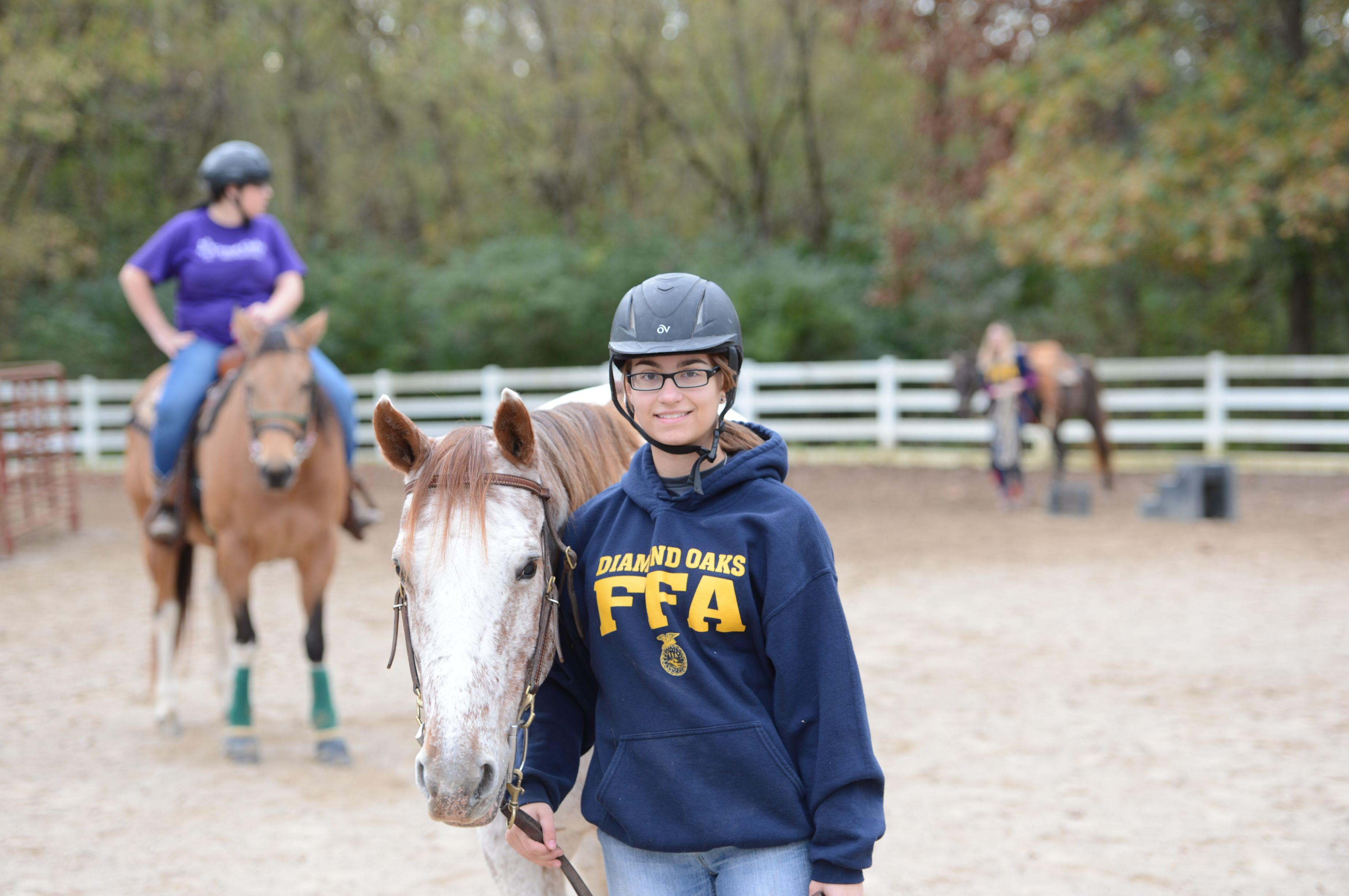 Great Oaks Equine Science Management For High School Students Learn To Develop Riding Techniques Practice Technique Equines Science High School Students