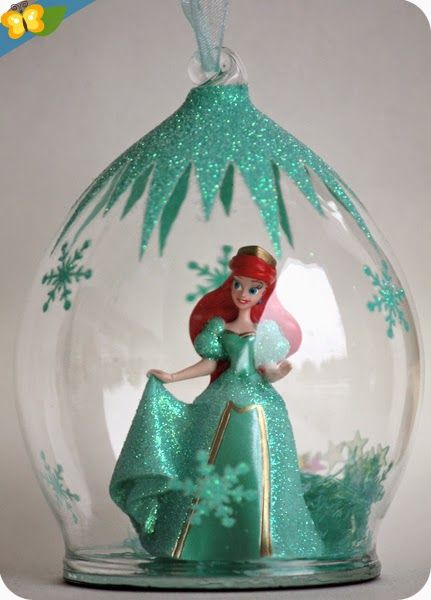 Nos boules de no l princesses disney noel christmas christmas ornaments et holiday - Boule noel disney ...