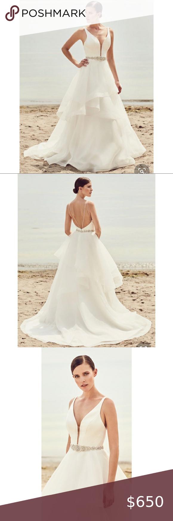 Mikaella Bridal Style 2112 Size 12 Unaltered In 2020 Bridal Style Mikaella Bridal Bridal