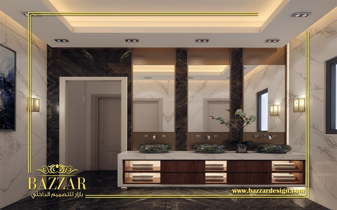تصميم حمام مودرن تصميم ديكور حمامات فخمه تصميم حمام ذات الوان هادئه تصميم حما Small Bathroom Renovations Beautiful Bathroom Designs Bathroom Design Layout