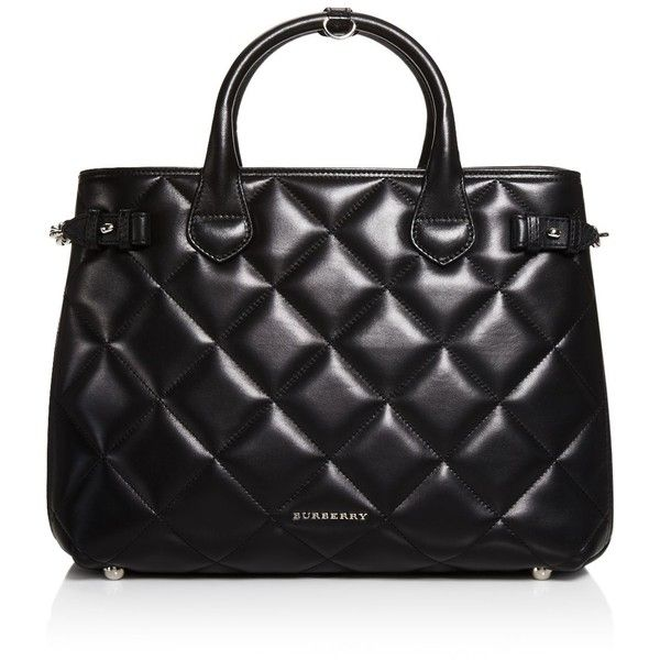 Burberry Quilted Tote Bag