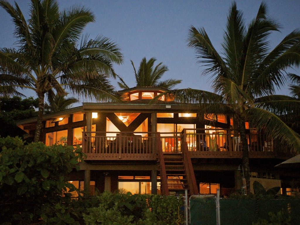 Sunset Beach Vacation Al Vrbo 428467 4 Br North S Oahu House In Hi Beachfront Oasis
