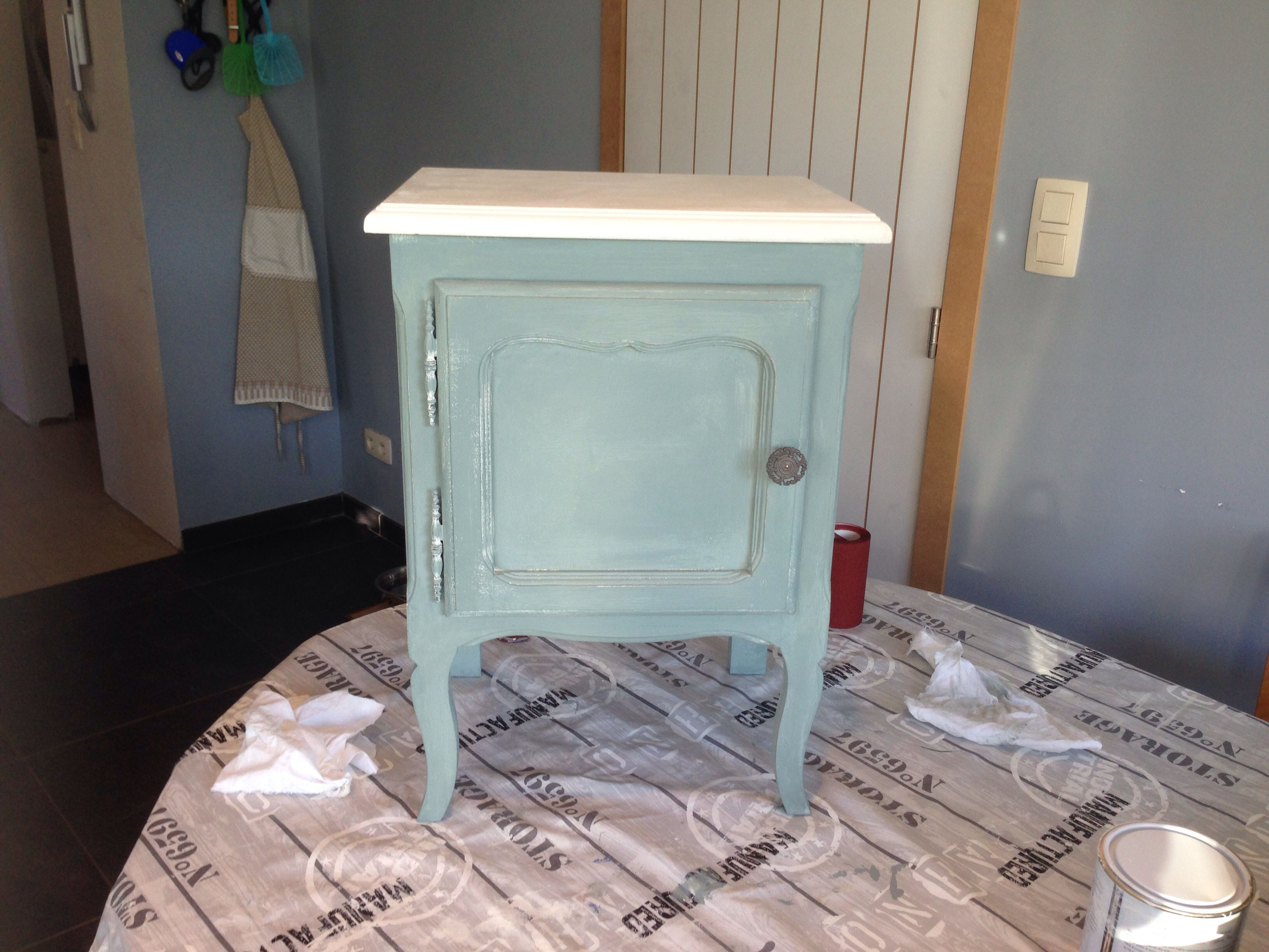 Chalk Paint nightstand | Painted night stands, Chalk paint ...