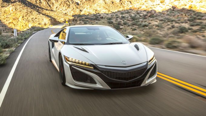 2018 Acura NSX Is A Sports Car By Acura, Division Of Japanese Automaker  Honda, Manufactured In 1990 To 2005 And Again From April 2016.