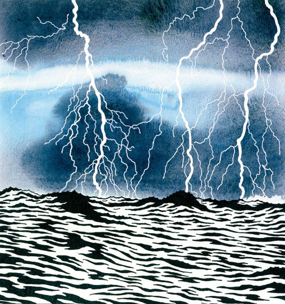 #KenPrice #water #lightning