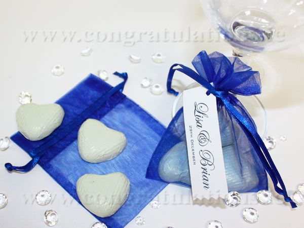 Royal Blue Wedding Centerpieces Pretty Organza Bags Available In An Extensive Range Of Colours