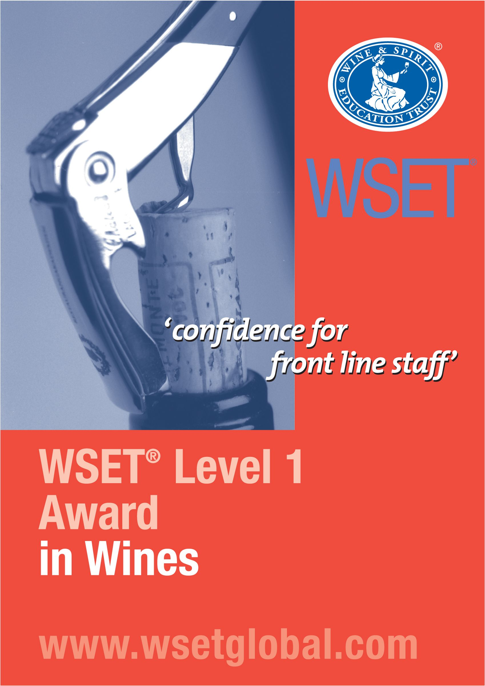Wset Level 1 Award In Wines This Qualification Was Initially Created For The Front Of House Staff Within The On Trade Sector Wine Education Wine Course Wines