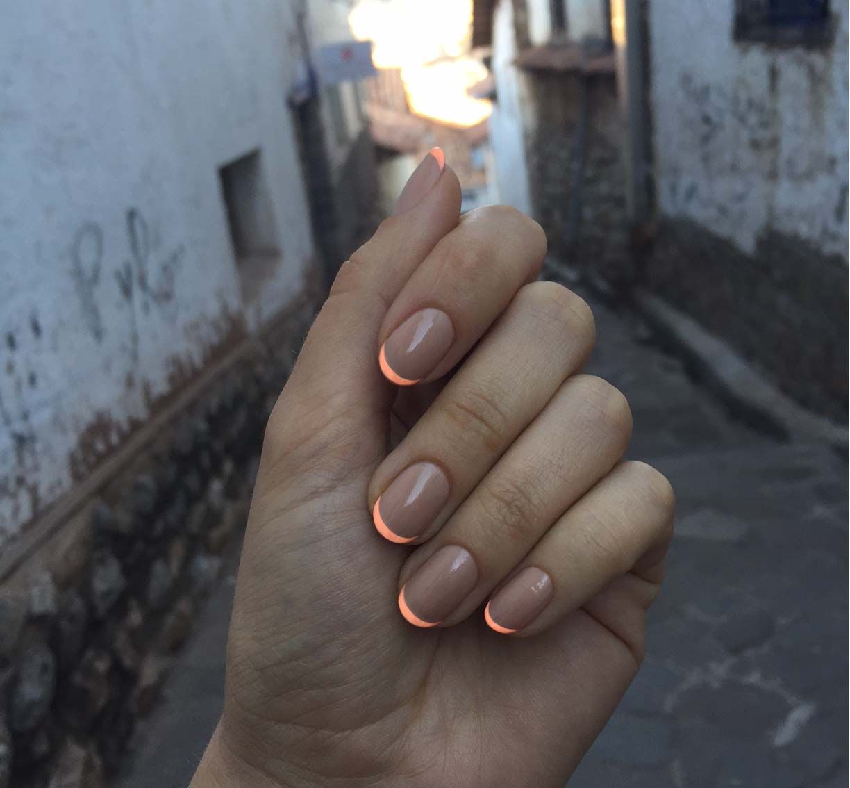 """uneedamanicure: """" using @deborahlippmann """"naked"""" and @flossgloss"""