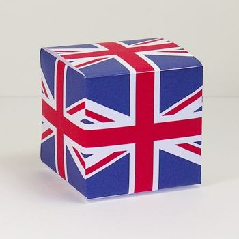 Free crafts to download and print, Union Jack Queenu0027s Jubilee - gift box templates free download