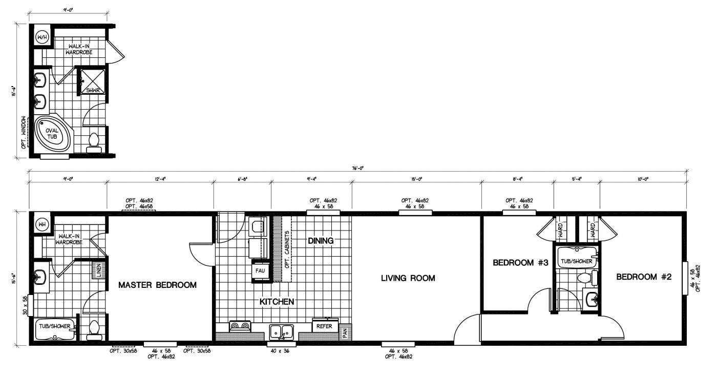 3 Bedroom Rv Floor Plans | http://viajesairmar.com | Pinterest ...