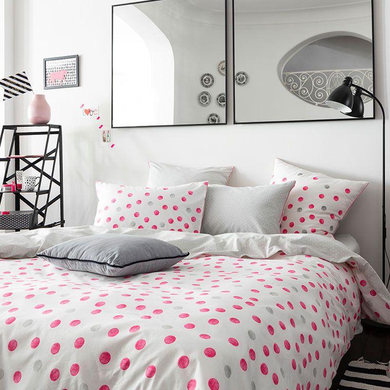 Housse De Couette Cleo Rose Carreblanc Decoration Lingedemaison Lingedelit Bedroom Bedroomdesign Housse De Couette Housse De Couette Ado Parure De Lit
