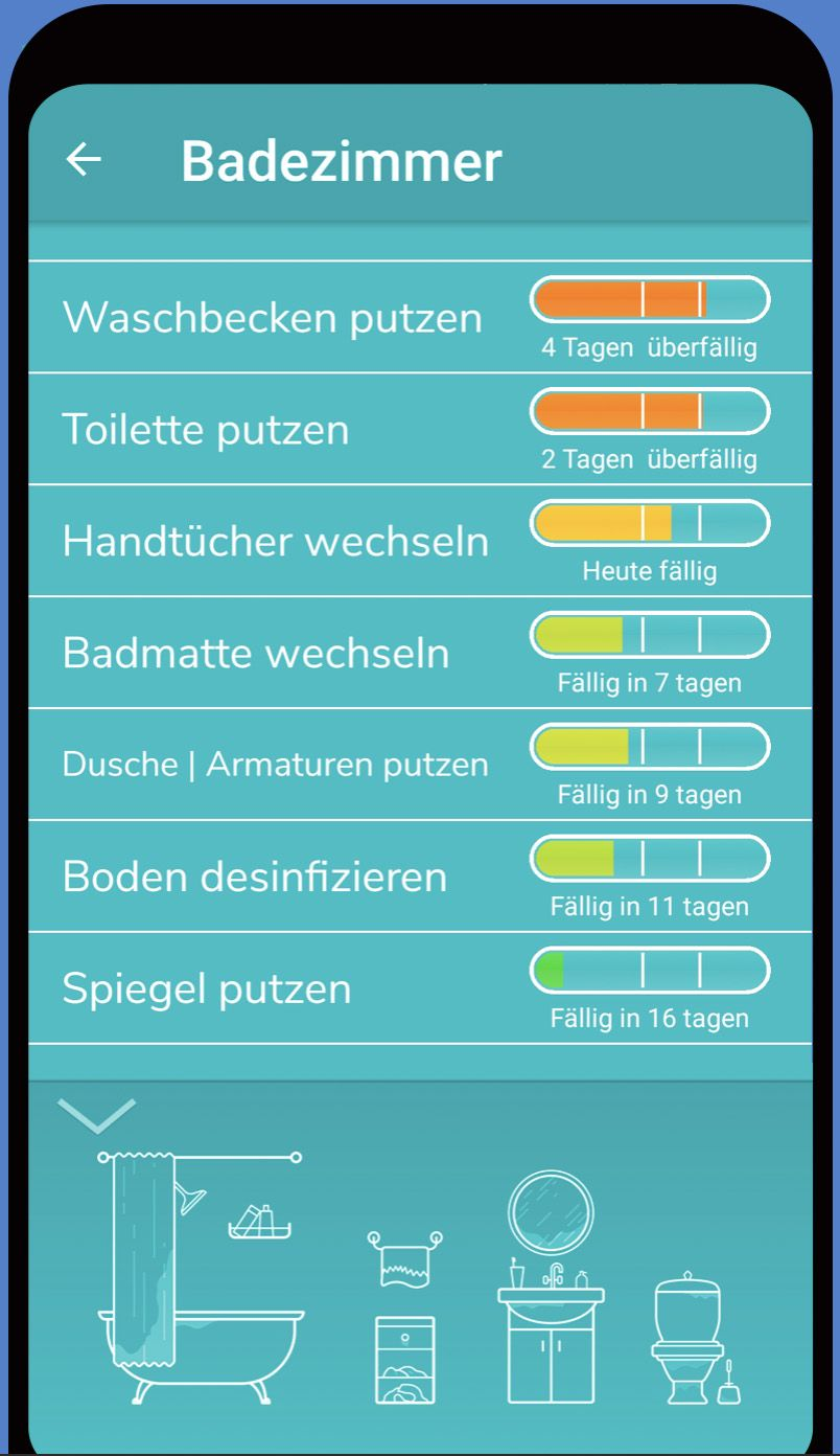 Die besten Putzplan Apps im Vergleich   DAS HAUS   Apartment ...