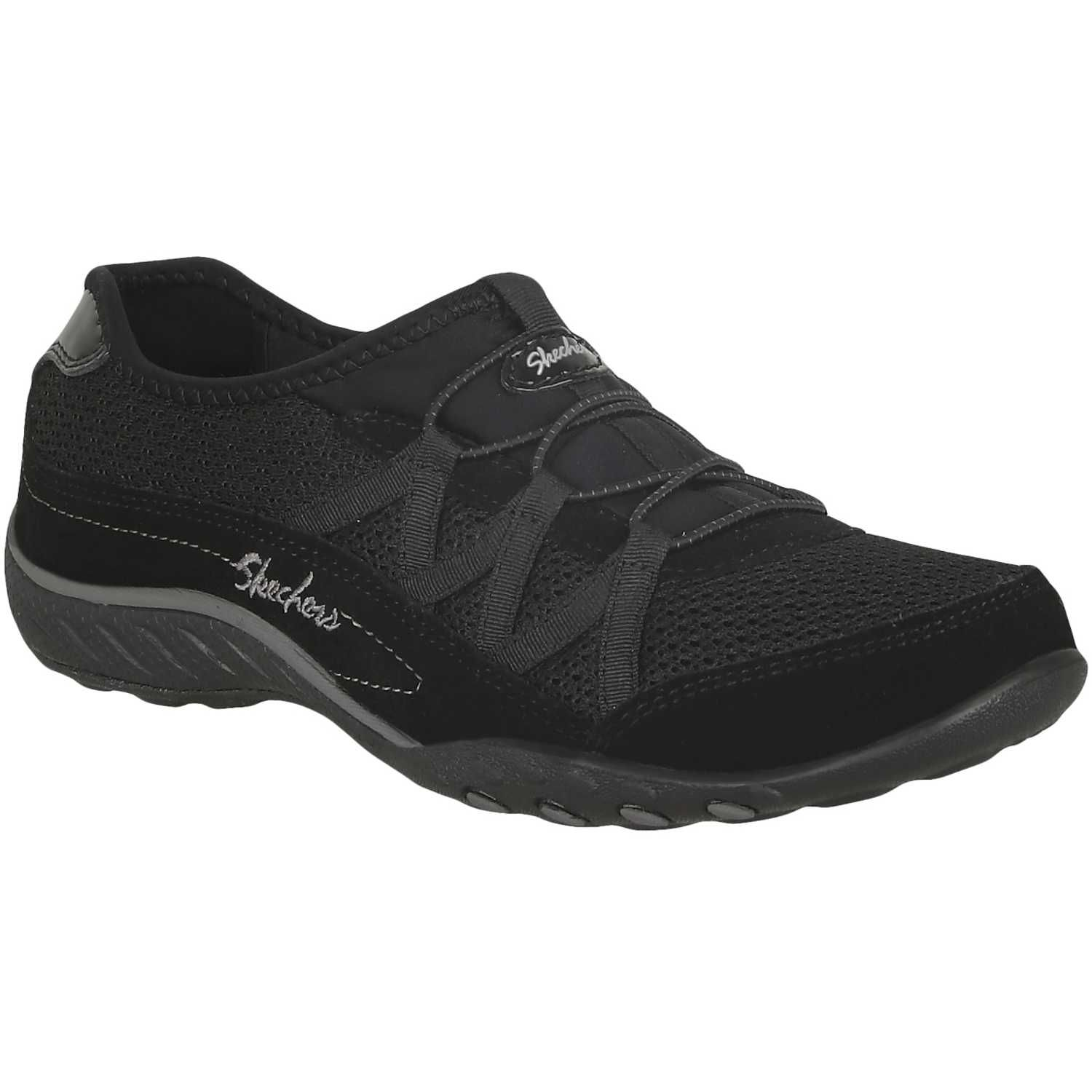 Skechers Breathe-Easy - Relaxation - Zapatillas para mujer, color negro, talla 37