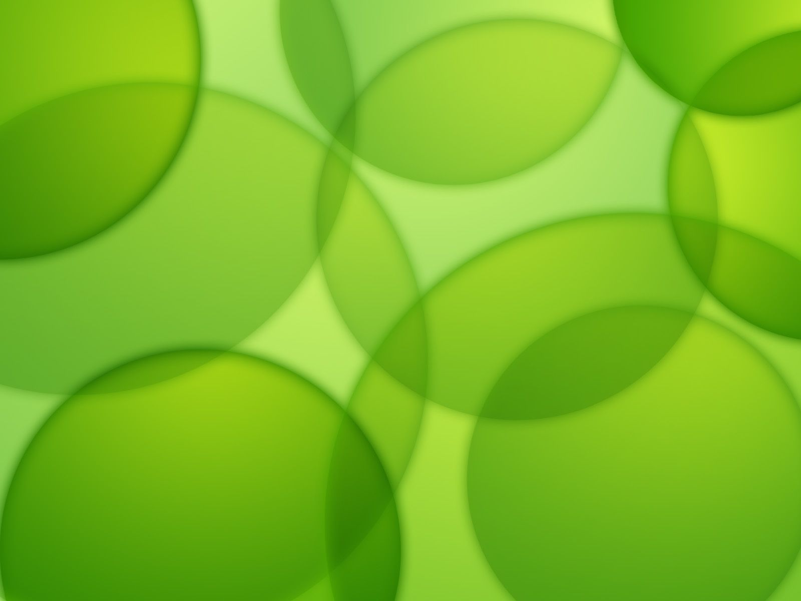 Bubbles and green leaves [ wallpaper Abstract wallpapers