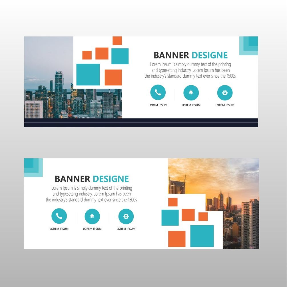 modern web banner template free download free graphic template