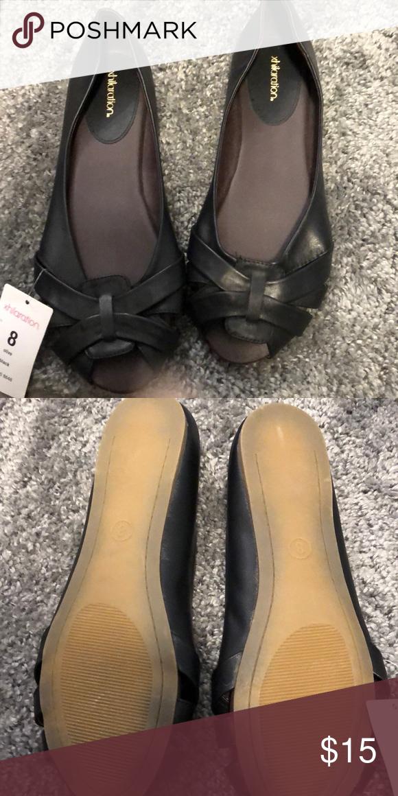 Target open toe flats NWT⬇️ | Open toe