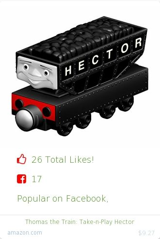 Top christmas gift on Facebook.  Top christmas gift on undefined 26 people likes on Internet. fisher price thomas amazon christmas gift. thomas the train%3A take n play hector from amazon christmas gifts. http://www.MostLikedGifts.com/top-popular-christmas-gifts/amazom-christmas-gift-B009SH8T5O-thomas-the-train%3A-take-n-play-hector